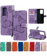 Wallet Case Leather Stand Flip Phone Cover For Samsung Galaxy S20+/S20 U... - $55.00