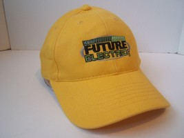 Future Electric Hipster Work Hat Yellow Hook Loop Baseball Cap - $15.36