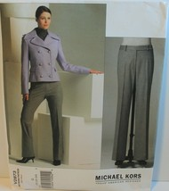 Vogue Sewing Pattern 2873 Michael Kors Misses Jacket Pants Size 20 22 24 - $19.34