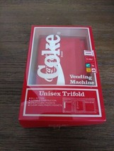 Vintage Nylon Coca Cola  Wallet In original box New and unused from 1988... - $65.44