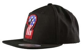 Dissizit! The Sh!t AMERICA #2 Two American Flag USA Snapback Baseball Hat NWT image 2