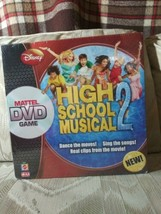 Disney High School Musical 2 Mattel DVD Game Dance The Moves Sing The So... - $19.79