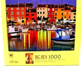 MB Big Ben 1000 Piece Jigsaw Puzzle, Istria, Rovinj, Croatia - $9.90