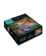 """Waterfalls Design Jigsaw Puzzle 1000pc 27""""x 20"""" When Complete Durable Fit Piece image 2"""