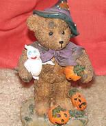 "Teddy Bear Halloween Statue - approx.4"" tall - $1.00"
