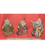 "3 Wise Men 3"" Tall Resin Statues for Holidays - $3.95"