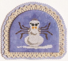 Snow Spider winter cross stitch chart Ink Circles - $3.60