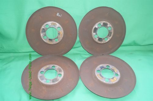 Set Wheel Brake Dust Cover Set Shield 4x108