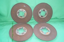 Set Wheel Brake Dust Cover Set Shield 4x108 image 1