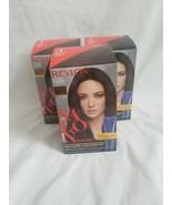 Revlon Salon Color 3 Natural Black Booster Kit haircolor lot x 3 - $57.42