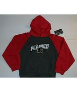 NEW Calgary FLAMES NHL  hoodie hoody Youth M 8-10 hockey - $13.86