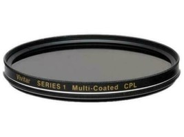 Vivitar CPL Circular Polarizer Multicoated Glass Filter 72mm - $8.99