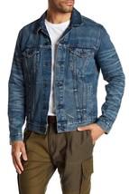 Levi's Men's Multi Pocket Button Up Distressed Denim Trucker Jacket 723340264