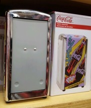 Metal Coca-Cola Napkin Dispenser Coke Store New Holiday Birthday Christm... - $56.09