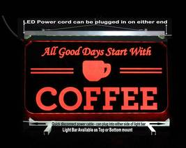 Personalized Coffee Cup LED Sign - Gift for Mom - Restaurant sign image 8