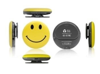 Smiley Face Pin Spy - high quality video camera and microphone spy cam