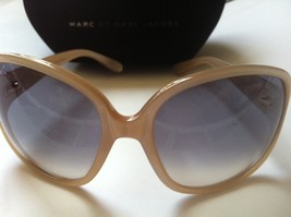 MARC JACOBS sunglasses MMJ023/s GNQ cream pearl cat eye mod 60s NEW w/ case RARE - $99.99
