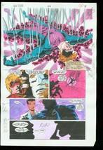 New Titans #107 Production Art Dc Color Guide - $303.13