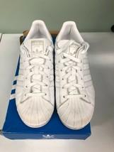 adidas Originals Women's Superstar Foundation Sneaker Size 8M White AQ1214 - $53.46