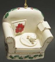 Lenox Holiday Chair Christmas Tree Ornament - $40.00