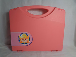 Playmobil Fairy Tale Princess Magic Castle Replacement Pink Carrying Case - $9.65