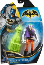 "Batman JOKER Attack in the Box Action Figure w/Mega Blaster 2013 5.5"" NEW - $6.83"