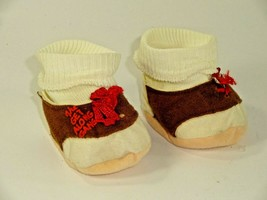Vintage 1984 TOMY Get Along Gang Dotty Dog Doll Accessories - Shoes & Socks - $12.24