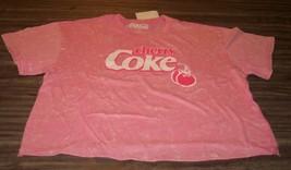 WOMEN'S TEEN COCA-COLA CHERRY COKE Pink TIE-DYE Skimmer T-shirt 2XL NEW ... - $19.80