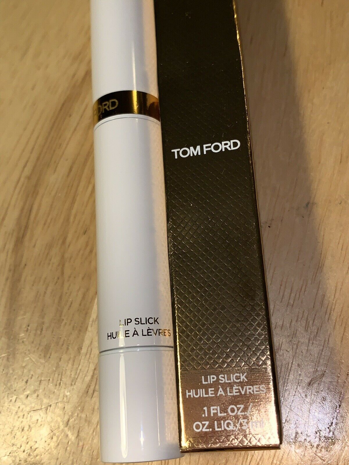 Primary image for TOM FORD Lip Slick 01 RED NECTAR 0.1 Oz / 3 ml BRAND NEW & BOXED