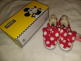 90th Anniversary Disney Minnie's Bow Vans Authentic Gore /True White Shoe - $150.00