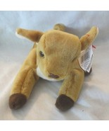 Ty Beanie Baby Whisper the Fawn 1997 5th Generation Hang Tag  - $12.86