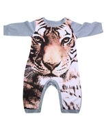 Autumn Baby Long Sleeve Romper with Full Tiger Printed Baby Boys Girls I... - $14.80
