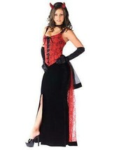 Devils Kiss Costume Adult Size Small Medium 2-8 Halloween Party by Fanta... - $21.73