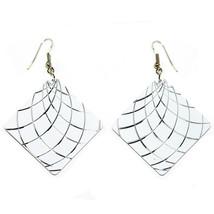 Cezare Earrings (white) - $29.99