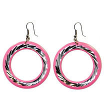 Electra Earrings (pink) - $29.99