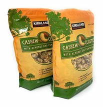 Kirkland Signature Cashew Clusters with Almonds and Pumpkin Seeds: 2 Bags of 32  - $85.39