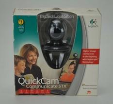 Webcam Logitech Quickcam Communicate Stx Opened Box #iweb06 - $12.10