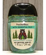 Snowkissed Citrus Pocketbac Antibacterial Sanitizing Hand Gel Bath Body ... - $5.00