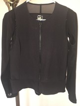 Women's Puma Lux By Hussein Chalayan Athletic Jacket Mesh Cool Cell Sz Med - $59.39