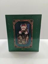 "Enesco ""St. Nicholas "" circa 1909"" Vintage Musical Jack in the box -1986 NIB - $64.34"