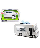 Food Truck White Just Trucks Series Diecast Model by Jada 30211 - $42.78