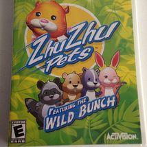 Zhu Zhu Pets Game: Featuring the Wild Bunch (Nintendo Wii, 2010)  image 3