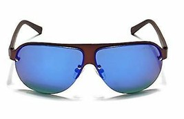 GUESS Factory Men's Rimless 3D Shield Sunglasses - $34.16