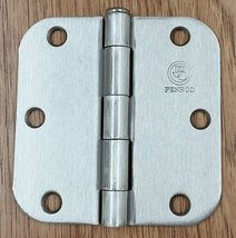 "Penrod Residential Door Hinges - Satin Nickel - 3.5"" with 5/8"" radius - 2 Pack - $12.95"