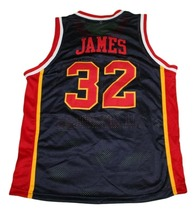 Lebron James #32 McDonalds All American New Men Basketball Jersey Black Any Size image 2