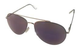 Kenneth Cole Reaction Mens Shiny Drk Nickeltin Aviator Metal Sunglass KC... - $17.99