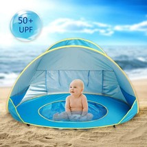 Hoomall Baby Beach Tent Pop Up Collapsible Portable Shade Pool UV Protec... - $27.43