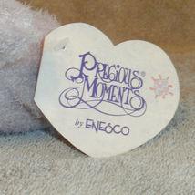 "Enesco Precious Moments Sharing Bear Plush New  Purple 6"" Stuffed Animal Toy image 9"