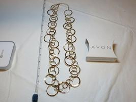 """Femmes Avon Extensive Liens Long Collier 30 """" + 3 """" Ext F3858951 Nip - $29.68"""