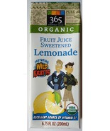 Wild Kratts Fruit Juice Sweetened Lemonade Empty - 6.75 fl oz Box - $3.00